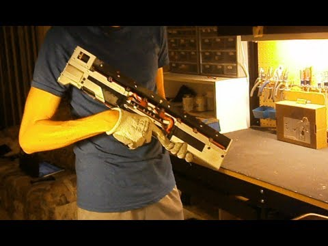 magnetic rail gun science project ii how to build it
