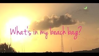 What's in my beach bag? Thumbnail