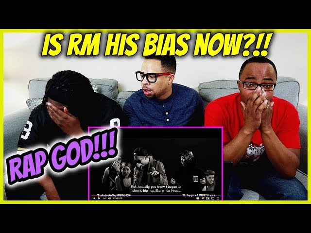IS RM HIS BIAS NOW?! | Introduction To BTS - Episode 2: RM REACTION!