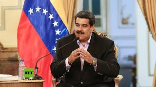 """Hands off Venezuela"": Maduro se dirige a Trump en inglés"