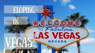 Eloping in Vegas | Little White Wedding Chapel