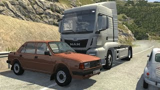 Loss of Control Car Crashes 10 - BeamNG Drive