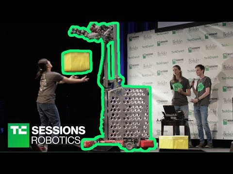 High School Students Robotics Teams | TC Sessions Robotics 2018
