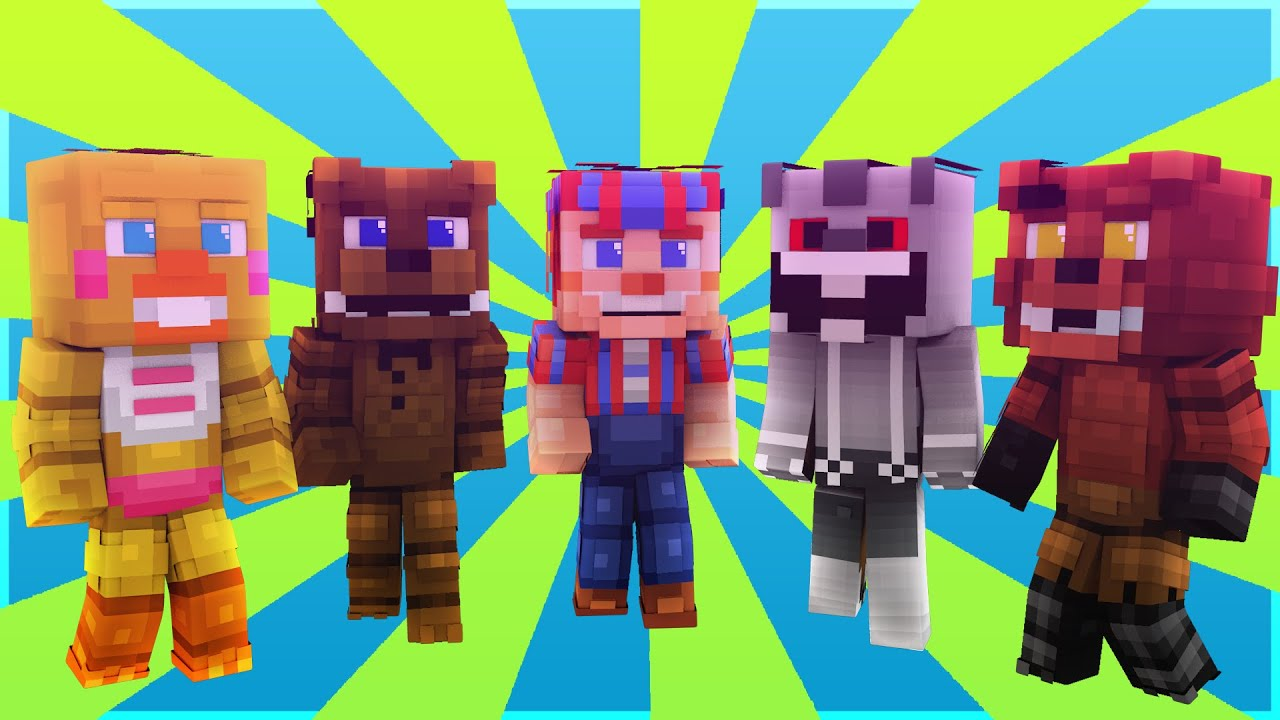 Fnaf world portal of fun minecraft minigame roleplay youtube