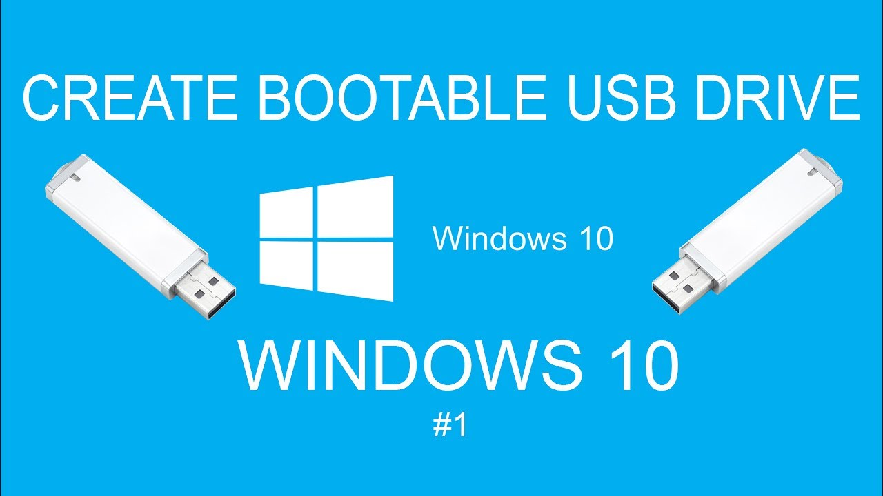 Windows usb/dvd download tool: create bootable media.