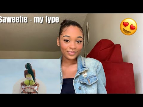Saweetie- My Type (Official Video) REACTION