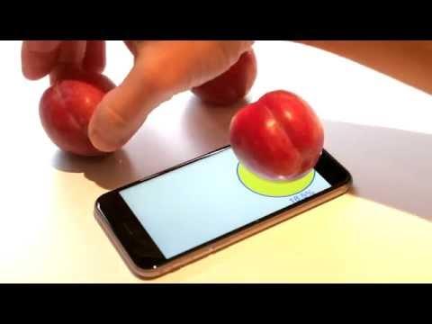 El iPhone 6s como balanza