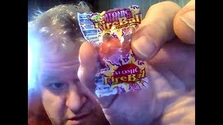 Ferrara Pan Atomic Fire Ball (Nostalgic Candy Review) & Personal Story From elementary School