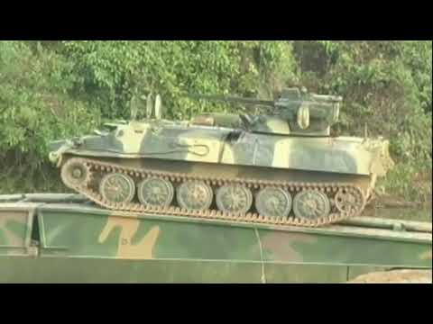 Myanmar military exercises 2018