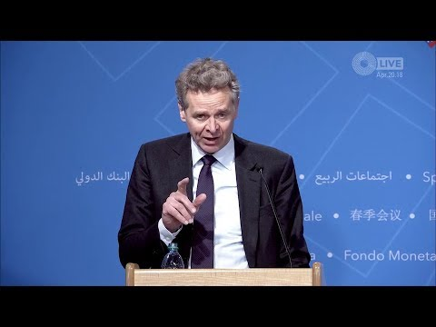IMF Spring Meetings -- press conference by the European Department
