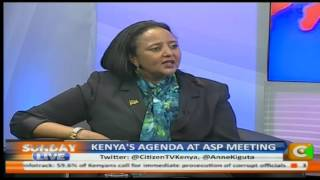 Interview with CS Amina Mohammed on Kenya's agenda at ASP meeting
