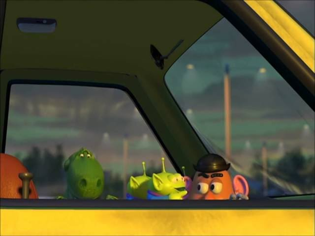 Toy Story 2-Pizza Truck Driving Scene