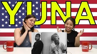"Americans React To Yuna ""Crush"""