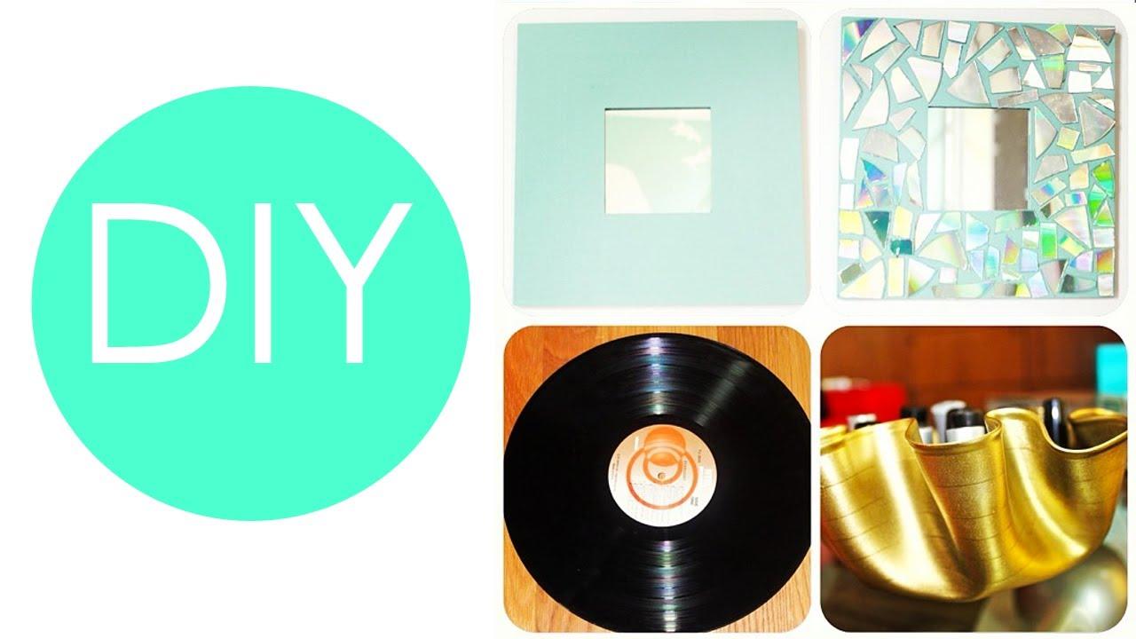 DIY - 3 ideas para decorar tu cuarto/ habitación/ recámara ... on Room Decor Manualidades Para Decorar Tu Cuarto id=76211