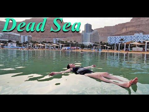 The Beauty Of EIN BOKEK DEAD SEA Floating/during Covid/ISRAEL