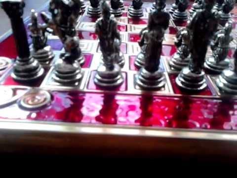 My Greek chess set (with board) review