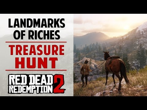 RDR2 PC: Landmarks of Riches All Maps & Treasure Location (Red Dead Redemption 2)