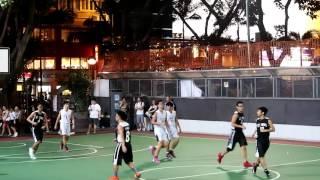 衛理對聖類斯學界籃球甲組hkd3 oct2015