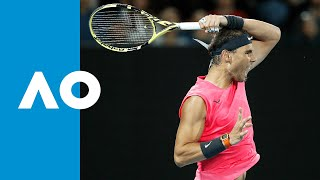 Rafael Nadal vs Federico Delbonis - Match Highlights (R2) | Australian Open 2020