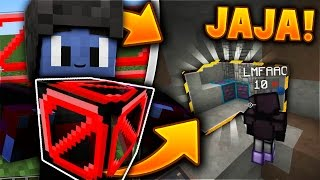 TROLLEANDO HACKERS con PARED INVISIBLE!! - Trolleo en Minecraft (Trolleando Hackers #4)