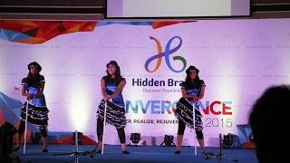 Hidden Brains Convergence 2015 – Geek-turned-Rockstars perform 'Girls Like to Swing'