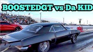 BoostedGT vs Da Kid Nitrous Firebird at red 13 no prep thumbnail