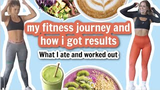 my fitness journeyand how i got results (what i ate, worked out)
