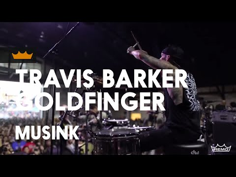 Remo + Travis Barker  Goldfinger: 99 Red Balloons  Musink 2017