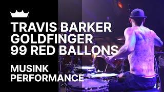 Remo + Travis Barker / Goldfinger: 99 Red Balloons - Musink 2017