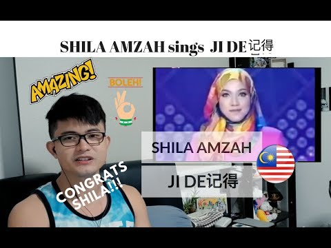 [REACTION] One of her BEST! SHILA AMZAH sings JI DE 记得 | #JANGReacts