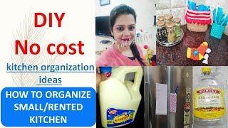 DIY ( no cost ) kitchen organization idea   how to organize kitchen   best out of waste   pratishtha