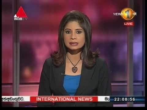 News 1st Sinhala Prime Time, Sunday, November 2017, 10PM (12-11-2017)