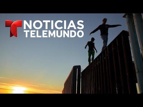 Sube las tensión en la frontera a medida que llegan migrantes de la caravana | Noticias Telemundo
