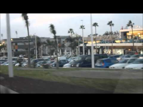 Way to Shopping Mall (Parque Santiago 6), Tenerife