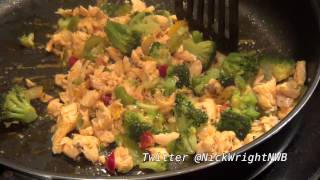 The Nicks Kitchen - Low Carb Spicy Salmon Stir Fry
