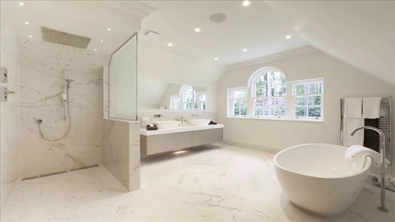 Wet Room Bathroom Designs - YouTube
