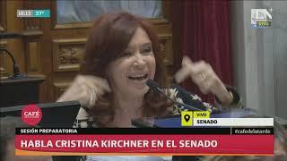 Discurso explosivo de Cristina Kirchner en el Senado contra la Justicia