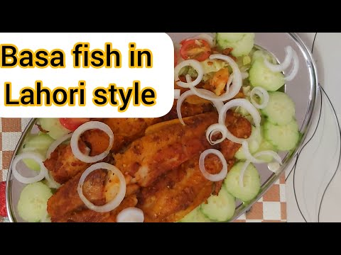 Basa Fish Recipe , Basa Fried Fish Recipe Basa Fish LAHORI STYLE . #atiaamir