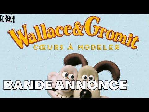 WALLACE ET GROMIT COEURS A MODELER | Ban