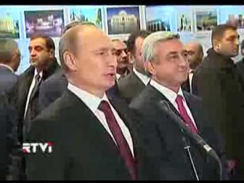 Владимир Путин высказался по поводу Украины, находясь с визитом в Армении