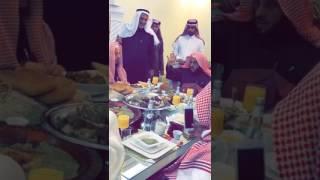 """– بالفيديو.. وليمة بني مالك وثقيف ترحيبا بـ"""" القرني """" خلال رحلته الدعوية بالطائف"""