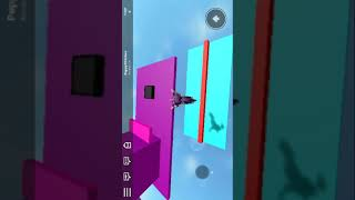 Playing tower of hell and parkour in Roblox