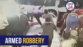 WATCH: Two people shot in Johannesburg armed robbery