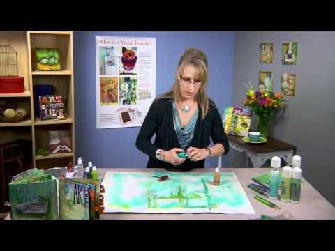 Cloth Paper Scissors Workshop - Art Journaling Fast & Easy -