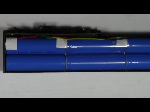 18650 Lithium-Ion Battery Harvesting From A NEW Laptop Battery Pack Surprising Results