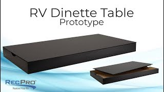 RV Dinette Table Prototype