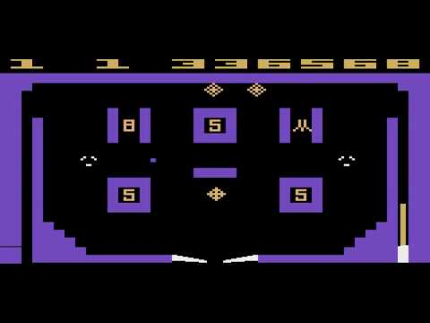Atari 2600 - Video Pinball - Game 1