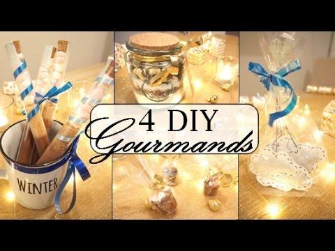 4 Diy Cadeaux Gourmands