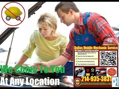 Pre Purchase Car Inspection Dallas, Texas Mobile Auto Mechanic service Vehicle review near me