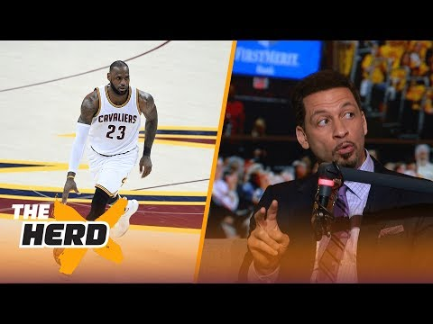 Chris Broussard on where Lebron will finish career, O.J. Simpson hearing and more | THE HERD